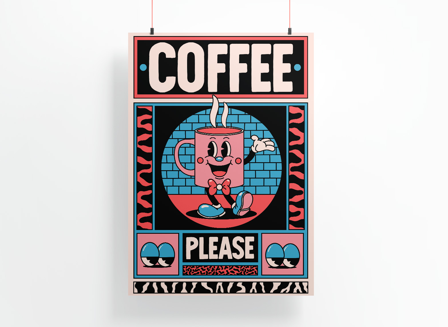 COFFEE - LIMITED EDITION PRINT