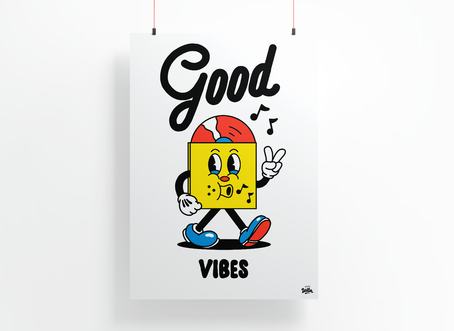 VIBES - LIMITED EDITION PRINT