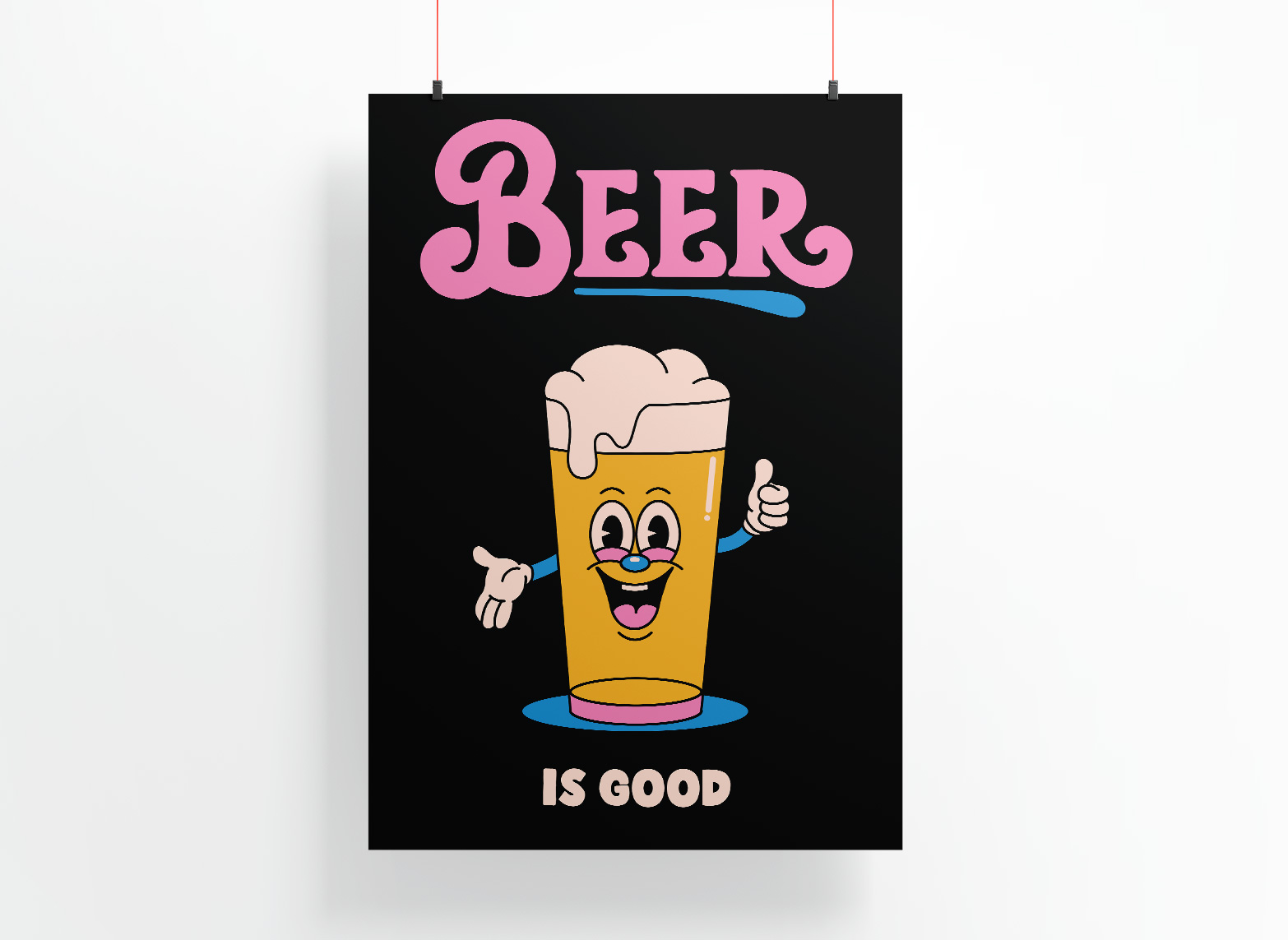 BEER - LMITED EDITION PRINT